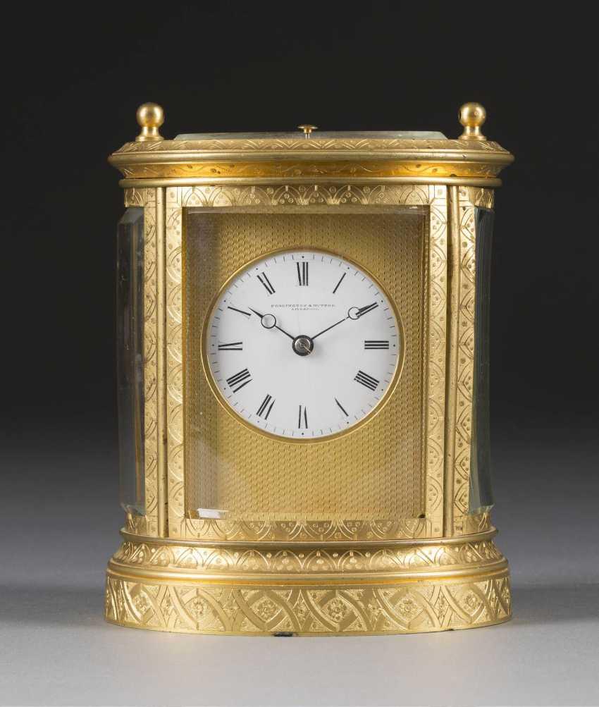 Carriage clock, England, Liverpool, Penlington & Hutton, 1880. - photo 1