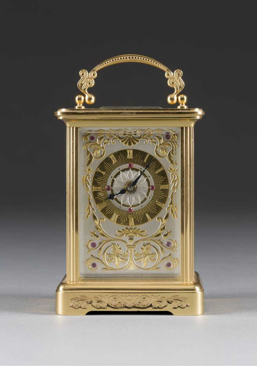 Travel alarm clock Switzerland, 20. Century - photo 1