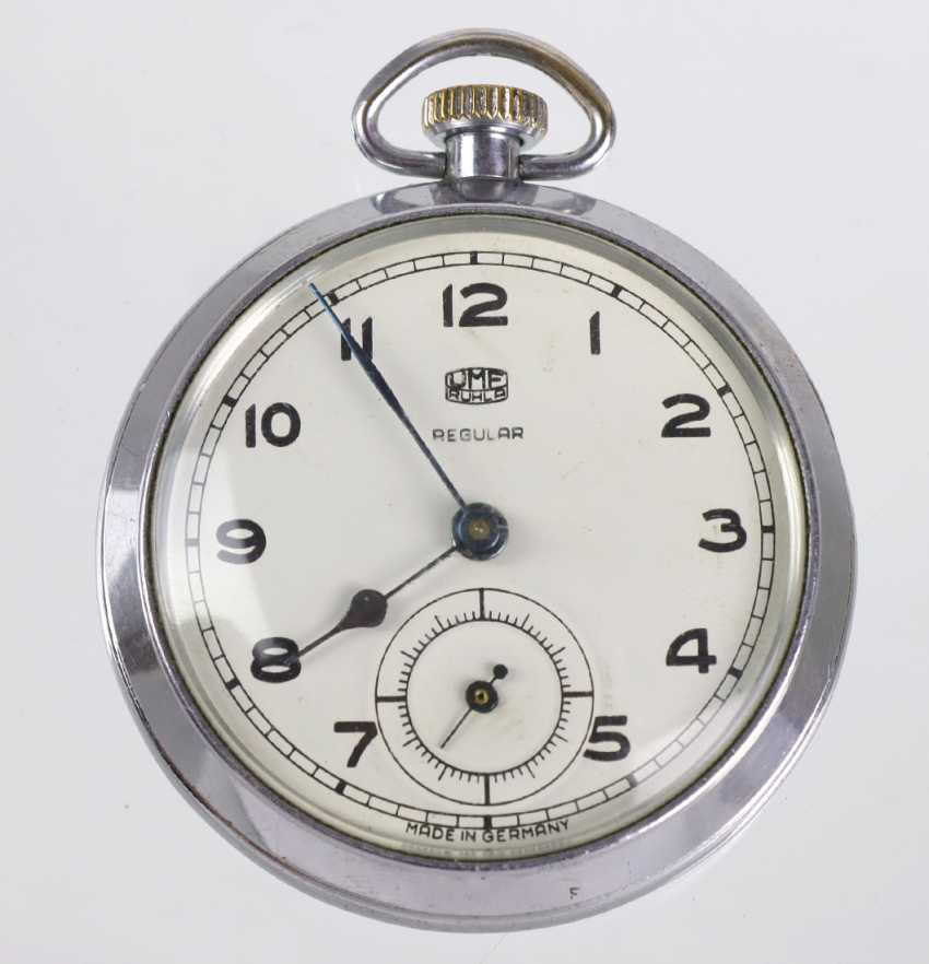 UMF Ruhla men's pocket watch - photo 1