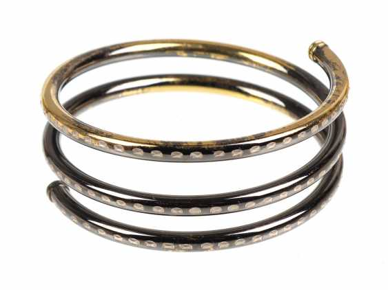 Spiral bangle silver 925 - photo 1