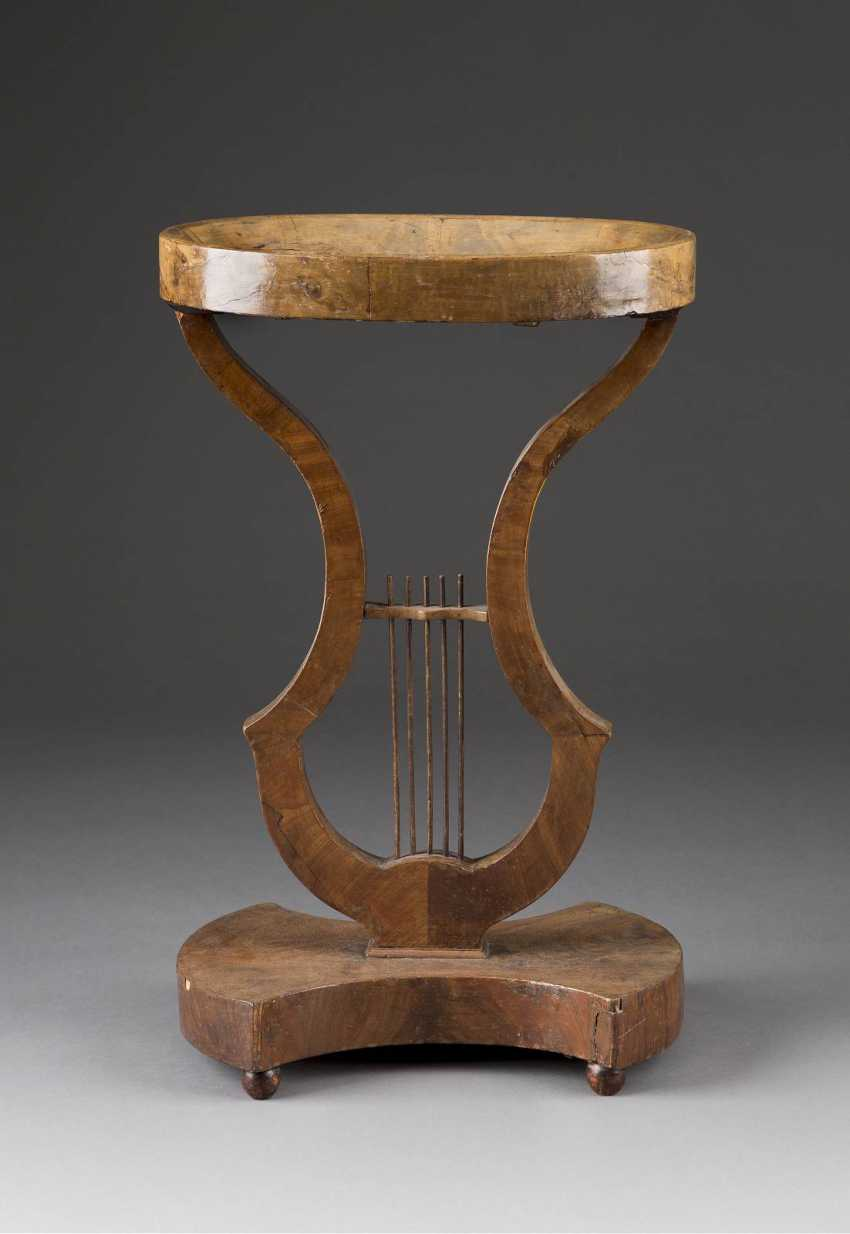 THE TABLE IN LYRA FORM - photo 1