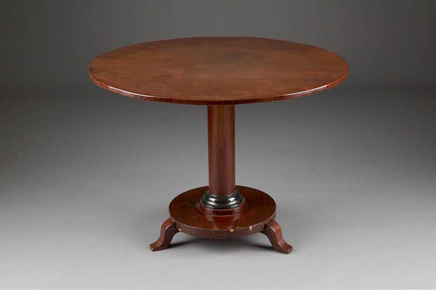 BIEDERMEIER TABLE - photo 1