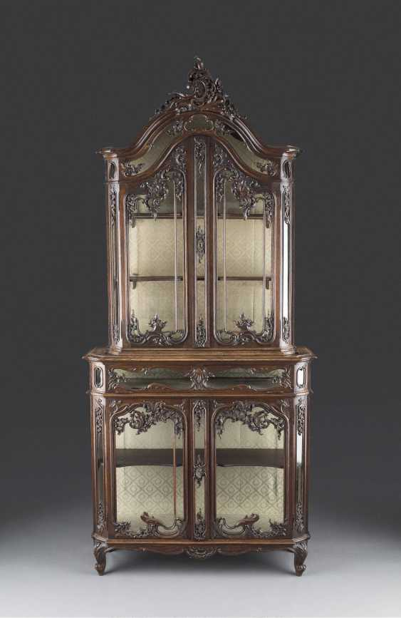 HIGHLY DECORATIVE TOP DISPLAY CABINET - photo 1