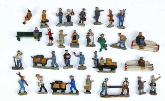 Posten Eisenbahn Miniaturfiguren - photo 1