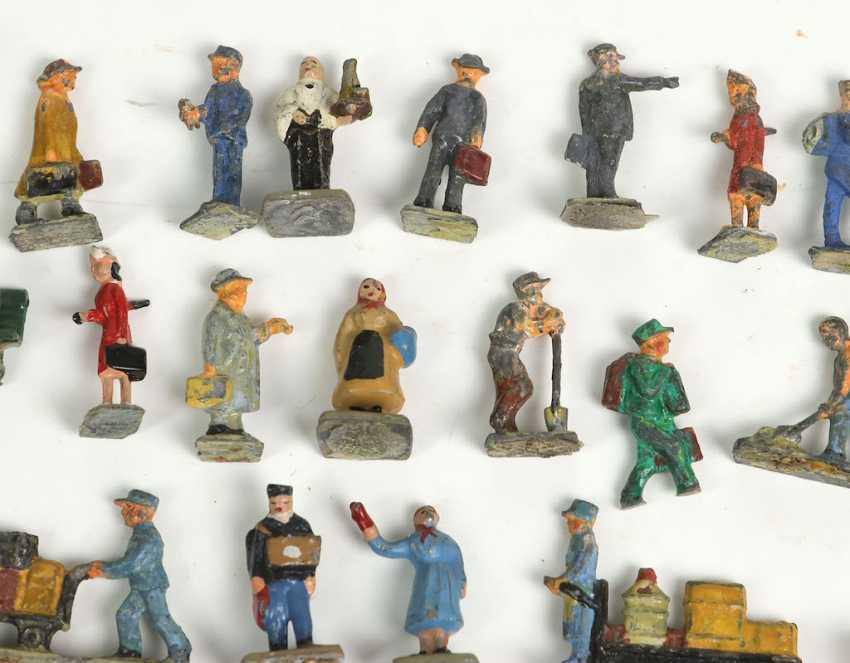 Posten Eisenbahn Miniaturfiguren - photo 2