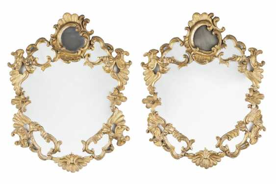 PAIR OF BAROQUE MIRRORS - photo 1
