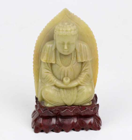 kleiner Jade Buddha  - photo 1