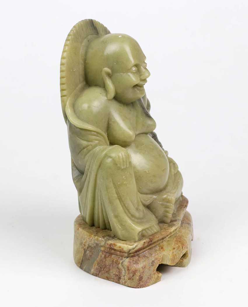großer Jade Buddha - photo 2
