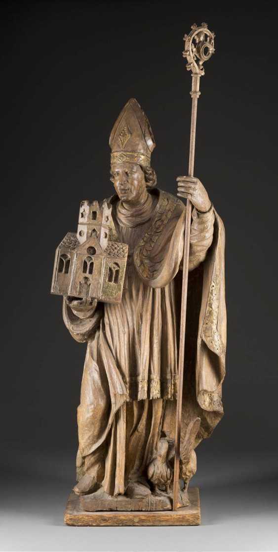 The HOLY BISHOP LUDGERUS OF MÜNSTER, Westphalia, 17. Century - photo 1