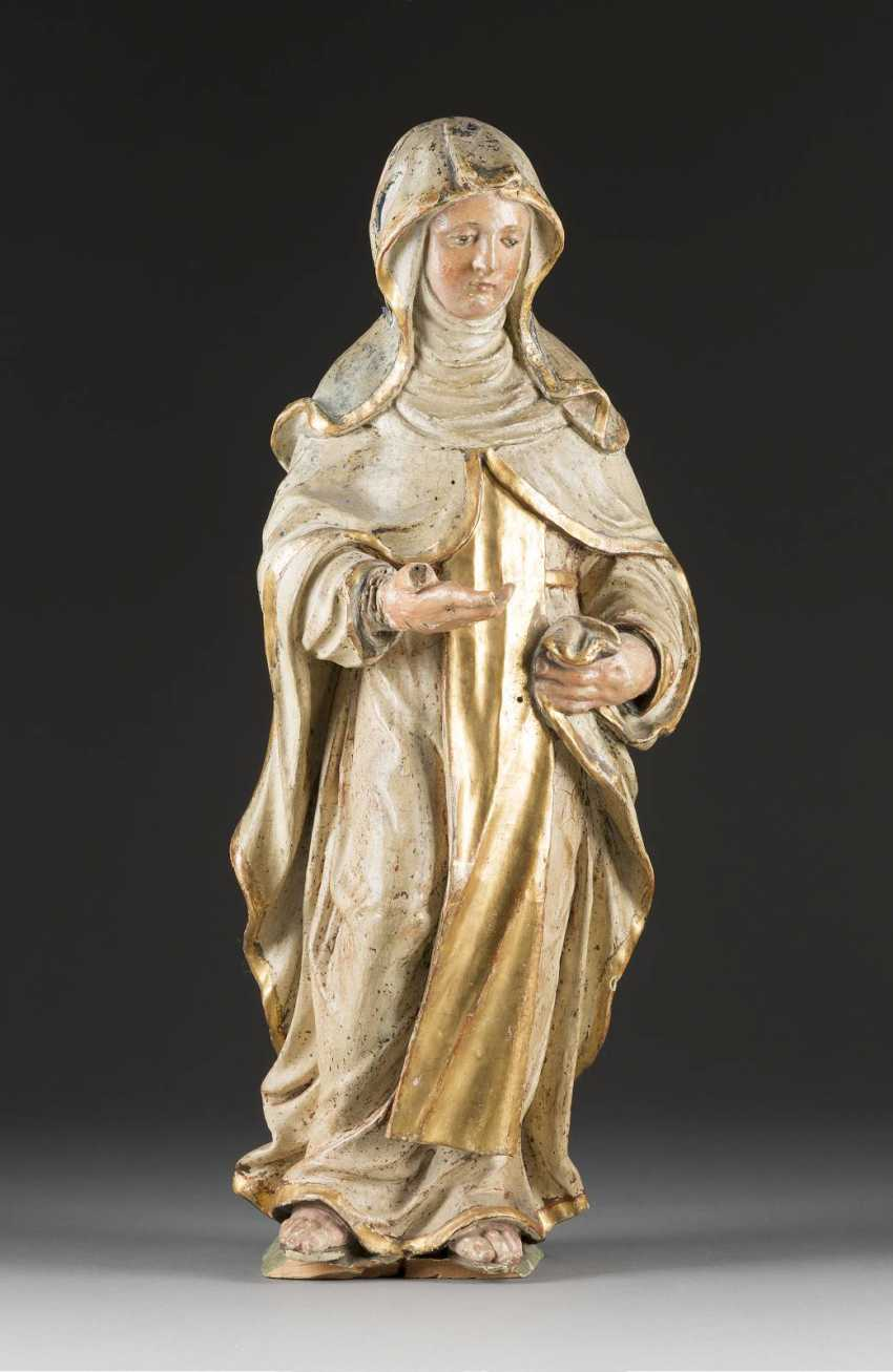 FIGURE OF A NUN SAINTS - photo 1