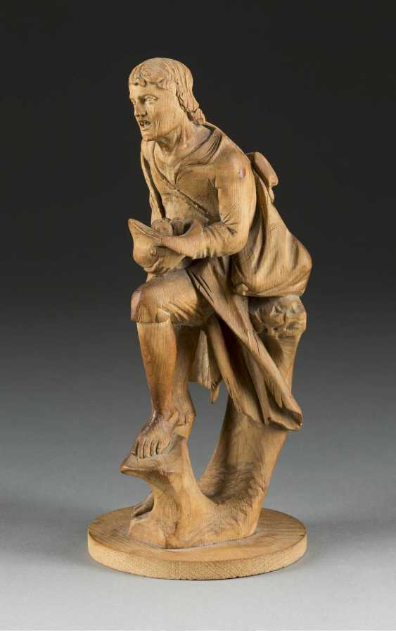 SIMON TROGER 1683 Abfaltersbach - 1768, Munich (kind of) figure of a beggar, South Germany, around 1750. - photo 2