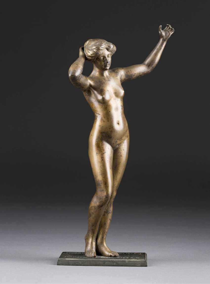 GERMAN sculptor Active in the beginning of 20. Century Female Nude - photo 1