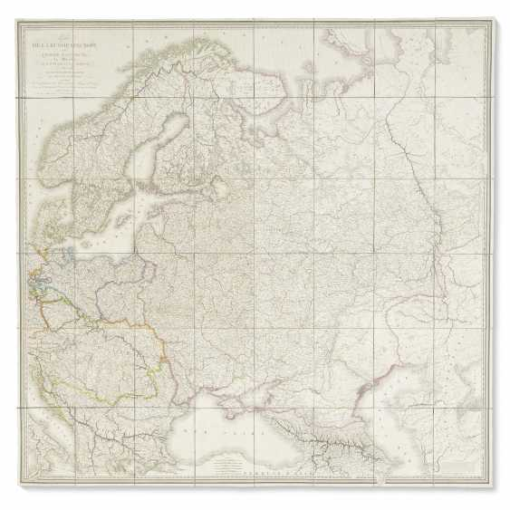 Lapie's map of Russia and environs - photo 1