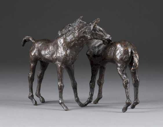 KURT ARENTZ 1934 Cologne - 2014 Munich Two horses - photo 2