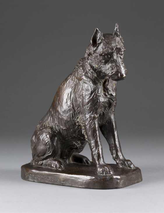 RUDOLF MARCUSE in 1878, Berlin in 1928, ibid Seated Terrier - photo 1