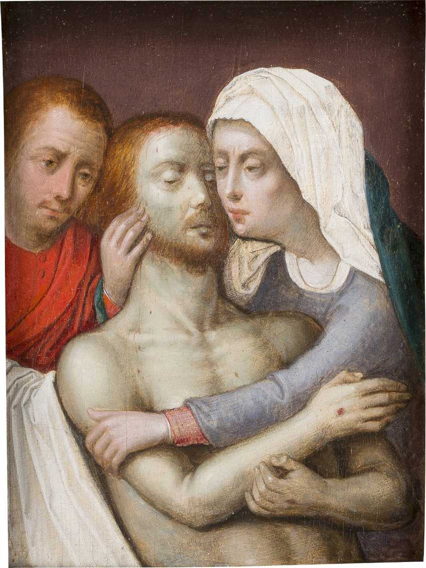 UPPER Rhenish MASTER, about 1530 entombment of CHRIST - photo 1