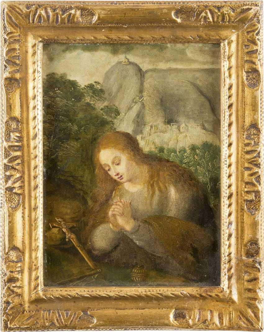 Top Italian/ALPINE MASTER, around 1700, THE PRAYING to MARY MAGDALENE - photo 2