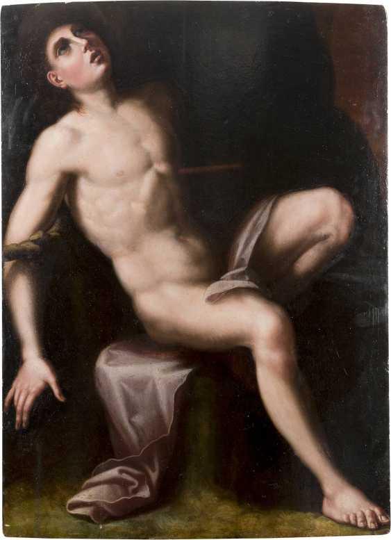 FLORENTINER MEISTER Tätig, Mitte 16. Jahrhundert MARTYRIUM DES HEILIGEN SEBASTIAN - photo 1