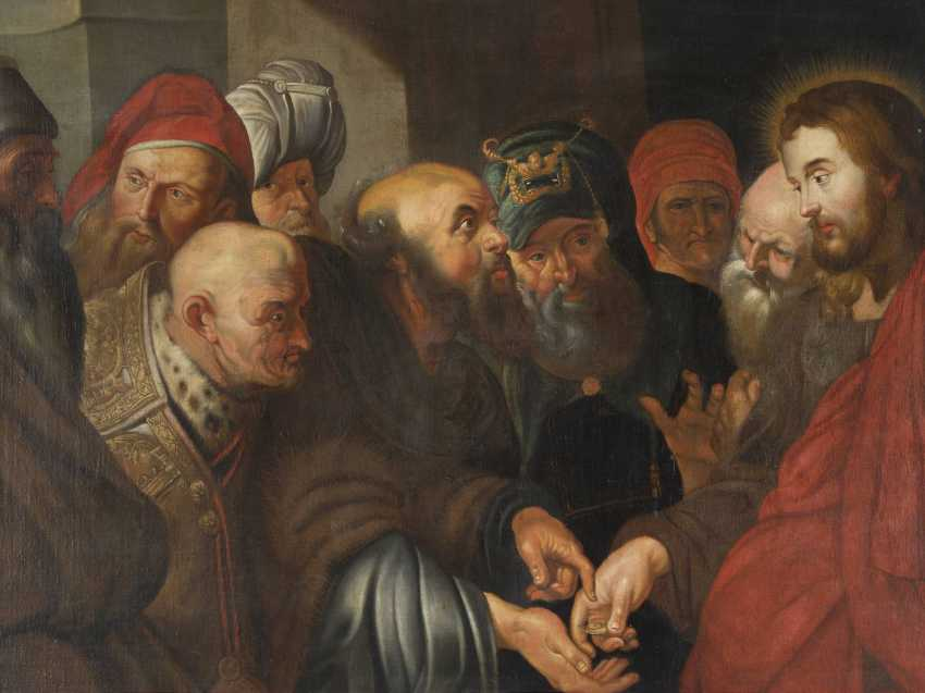 PETER PAUL RUBENS (NACHFOLGER) 1577 Siegen - 1640 Antwerpen DER ZINSGROSCHEN - photo 1