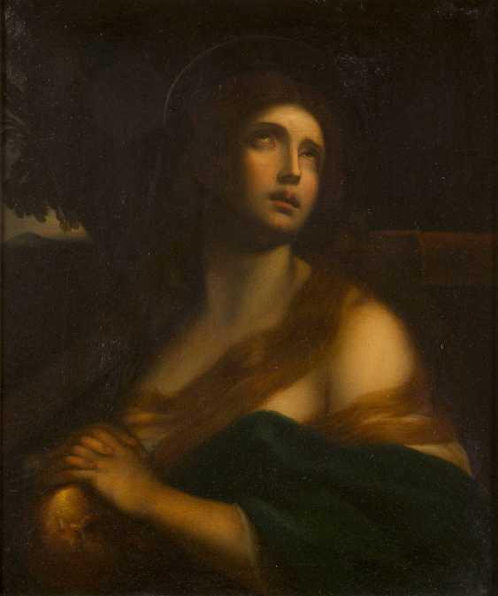 GUIDO RENI (IN DER ART DES) 1575 Calvenzano - 1642 Bologna DIE BÜSSENDE MARIA MAGDALENA - photo 1
