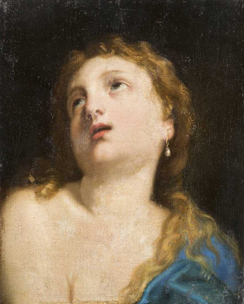 GUIDO RENI (CIRCLE) 1575 Calvenzano - 1642 Bologna DIE BÜSSENDE MARIA MAGDALENA - photo 1
