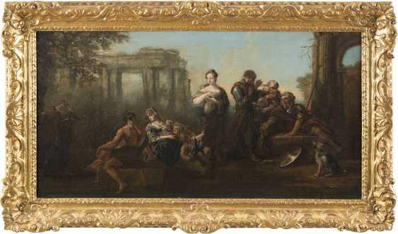 FRANZÖSISCHER MEISTER Tätig im 18. Jahrhundert ALLEGORISCHE SZENE - photo 2