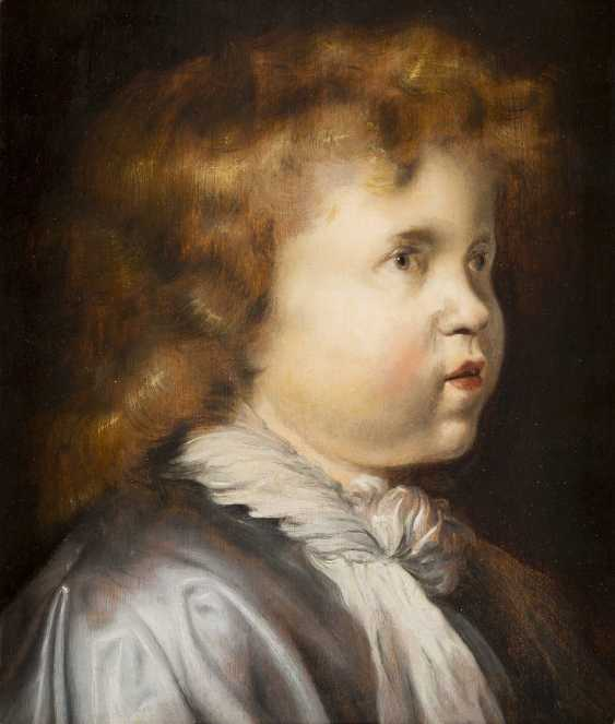 PETER PAUL RUBENS (SCHULE) 1577 Siegen - 1640 Antwerpen BILDNIS EINES KNABEN MIT RÖTLICHEM HAAR - photo 1