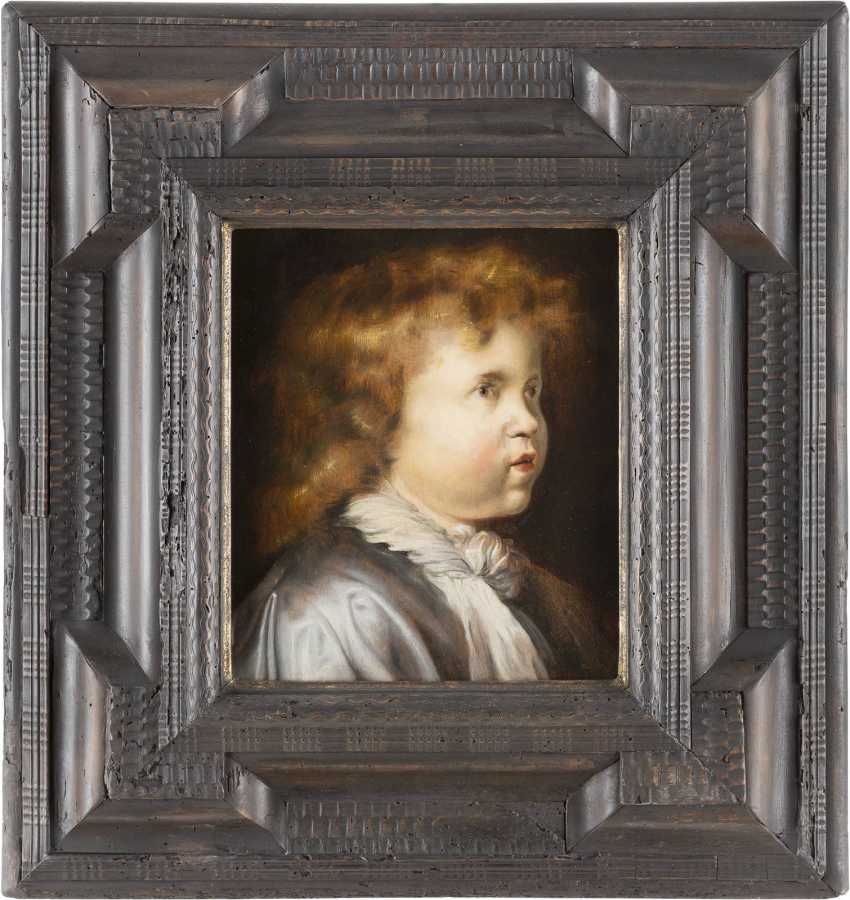 PETER PAUL RUBENS (SCHULE) 1577 Siegen - 1640 Antwerpen BILDNIS EINES KNABEN MIT RÖTLICHEM HAAR - photo 2