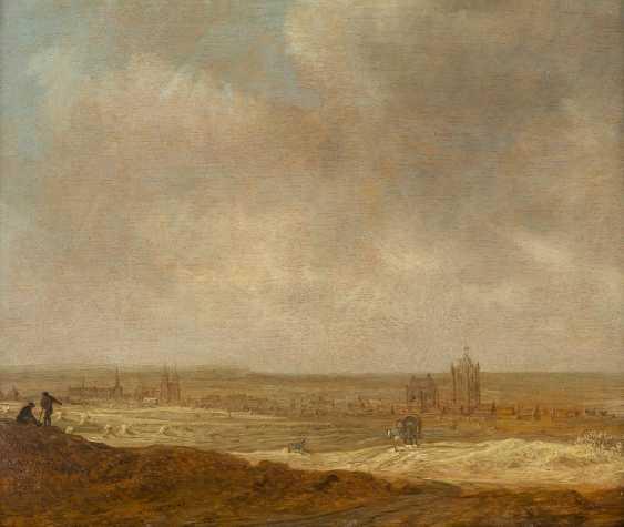 JAN VAN GOYEN 1596 Leiden - 1656 Den Haag BLICK AUF ARNHEIM VON DEN HÖHEN - photo 1