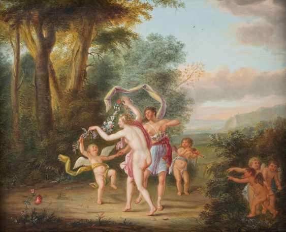 FLÄMISCHER MEISTER Tätig, um 1700 LA DANSE DE L'AMOUR (ORIGINALTITEL) - photo 1