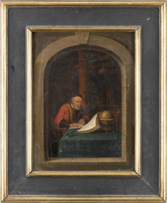 GERRIT DOU (NACHFOLGER) Leiden 1612 - 1675 DER PHILOSOPH - photo 2