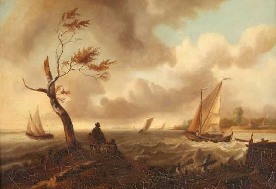 T. W. GORZKE Tätig, um 1900 'DER STURM', NACH LUDOLF BACKHUYSEN (1631-1708) - photo 1