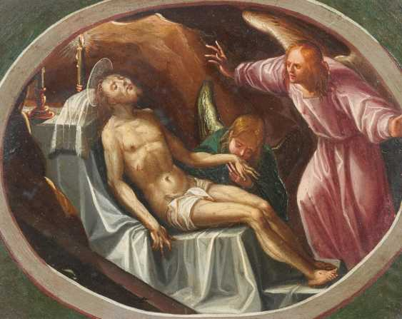 Two paintings: Madonna and Child and the Infant St. John. / Lamentation of Christ - photo 2