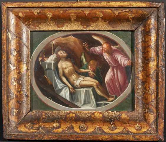 Two paintings: Madonna and Child and the Infant St. John. / Lamentation of Christ - photo 3