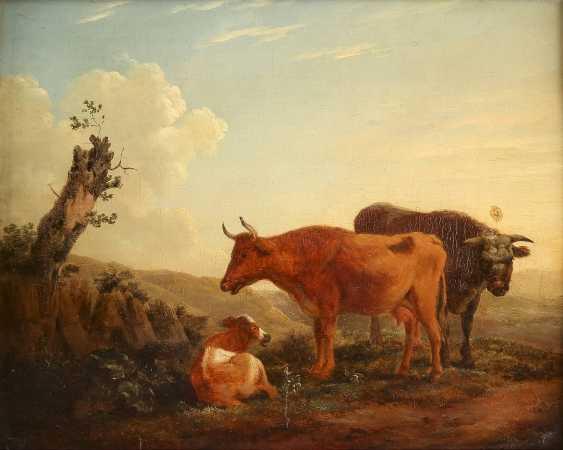 JEAN BAPTISTE DE ROY (ATTR.) 1759 Brüssel - 1839 Ebenda VIEH AUF DER WEIDE - photo 1