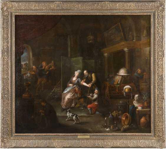 GERARD THOMAS (ATTR.) 1663 Antwerpen - 1720 Ebenda DER ADERLASS - photo 2