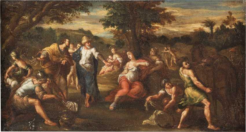 ITALIENISCHER MEISTER Tätig, um 1700 MYTHOLOGISCHE SZENE - photo 1
