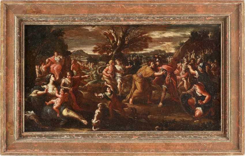 ITALIENISCHER MEISTER Tätig, um 1700 MYTHOLOGISCHE SZENE - photo 2