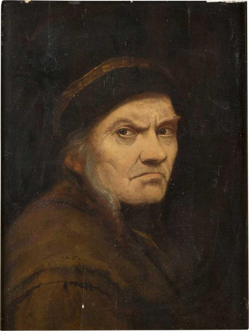 DEUTSCH/NIEDERLÄNDISCHE SCHULE Meister, tätig um 1700 BILDNIS EINES MANNES - photo 1