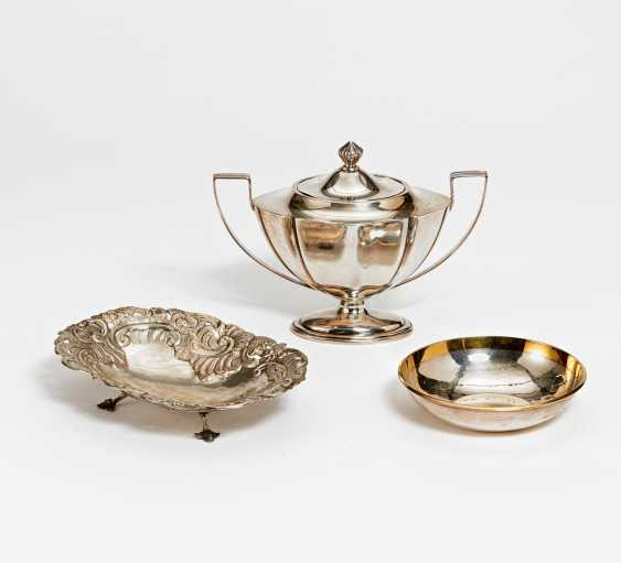 Sugar bowl, small round bowl, oval bowl - photo 1