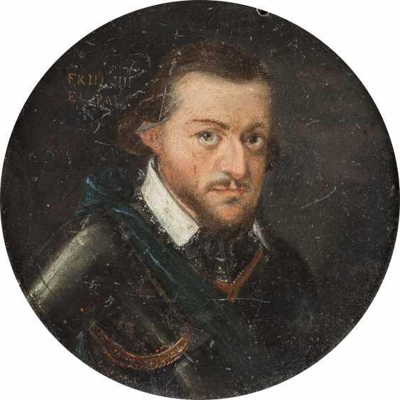 DEUTSCHER MEISTER Tätig, im 17. Jahrhundert BILDNIS FRIEDRICH IV. VON DER PFALZ (1574-1610) - photo 1