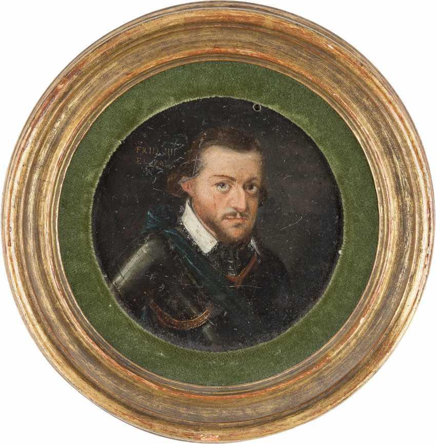 DEUTSCHER MEISTER Tätig, im 17. Jahrhundert BILDNIS FRIEDRICH IV. VON DER PFALZ (1574-1610) - photo 2