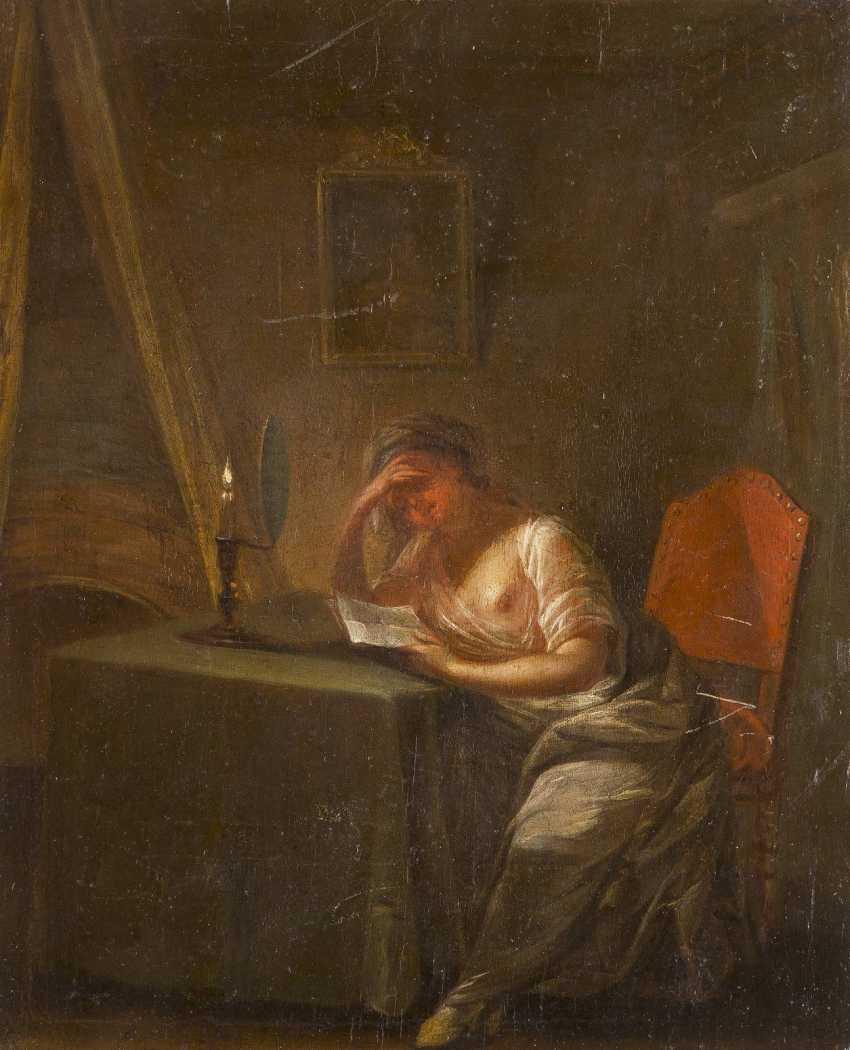 DEUTSCHER MEISTER Tätig, um 1760 DER BRIEF - photo 1