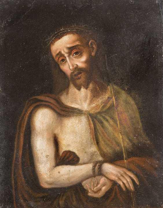 LUIS DE MORALES (NACHFOLGE) 1509 Badajoz - 1586 Ebenda ECCE HOMO - photo 1