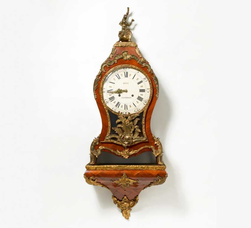 Auf Konsole Louis XV clock - photo 1