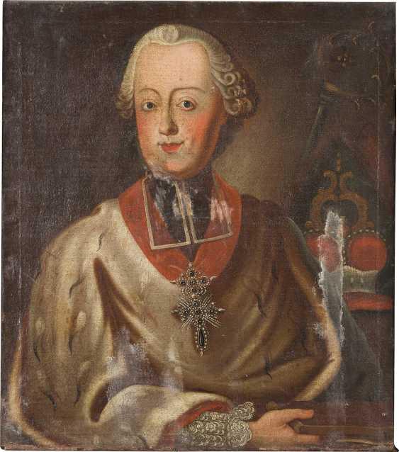 DEUTSCHER MEISTER Tätig im 18. Jahrhundert PORTRAIT DES CLEMENS WENZESLAUS VON SACHSEN (1739- 1812) - photo 1