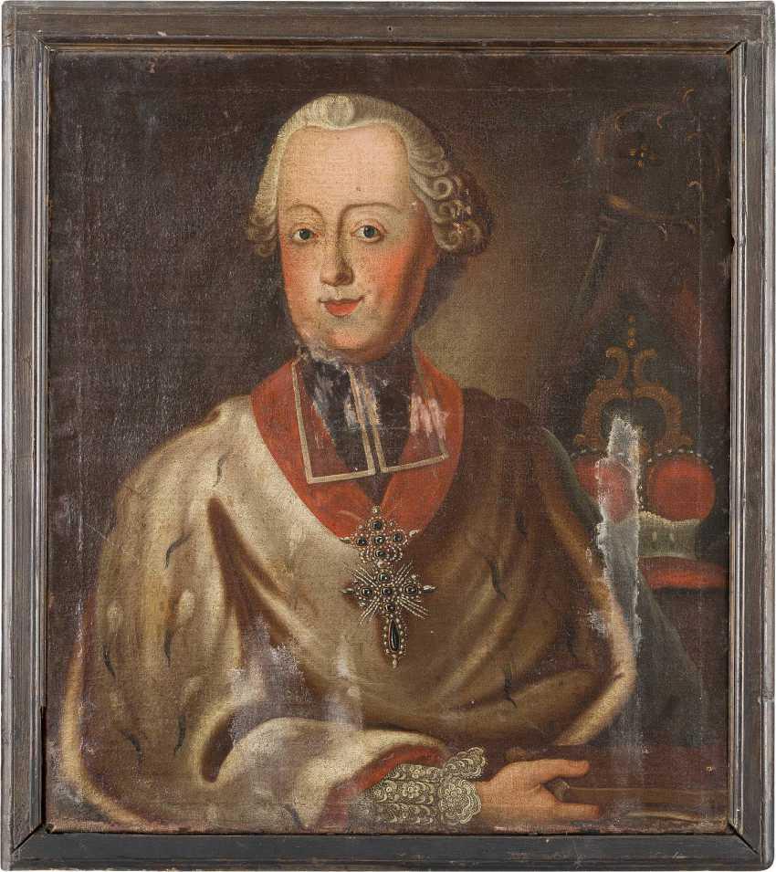 DEUTSCHER MEISTER Tätig im 18. Jahrhundert PORTRAIT DES CLEMENS WENZESLAUS VON SACHSEN (1739- 1812) - photo 2