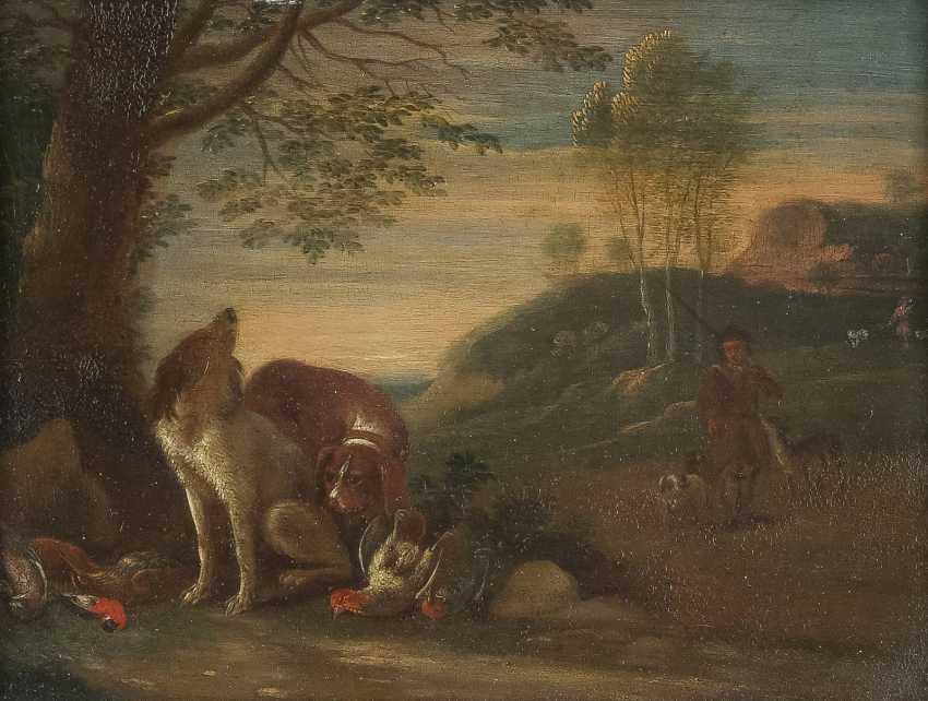 JAN WEENIX (NACHFOLGER) 1640 Amsterdam - 1719 Ebenda JAGDSTILLLEBEN - photo 1