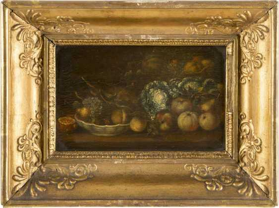 NIEDERLÄNDISCHER MEISTER Tätig im 18. Jahrhundert STILLLEBEN MIT FRÜCHTEN UND GEMÜSE - photo 2