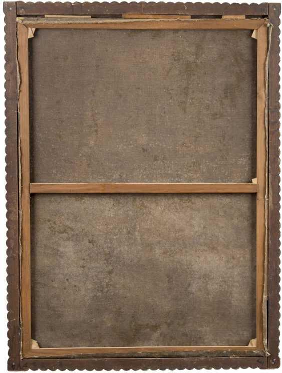 SÜDAMERIKANISCHER/SPANISCHER MALER Tätig im 18./19. Jahrhundert ANDACHTSBILD MIT EINER MONDSICHELMADONNA - photo 3